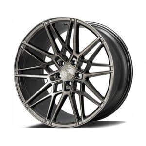 Axe CF1 Carbon Grey angle 1 alloy wheel