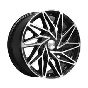1AV ZX10 Transit Black Polish alloy wheel