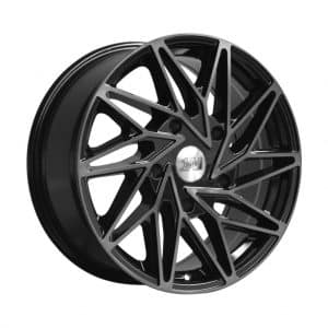 1AV ZX10 Transit Black Polish Tinted alloy wheel