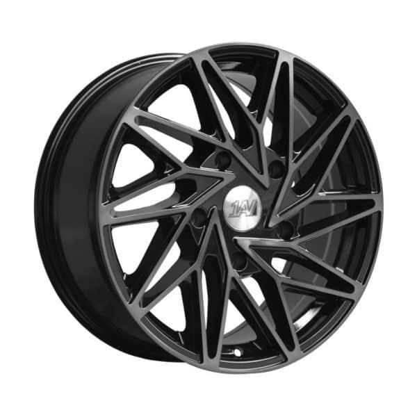 1AV ZX10 Transit Black Polish Tinted alloy wheel