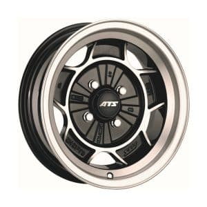 ATS Classic Diamond Black Polished alloy wheel