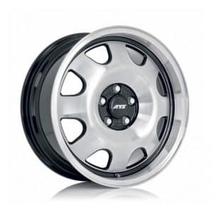 ATS Cup 18 Black Polished alloy wheel