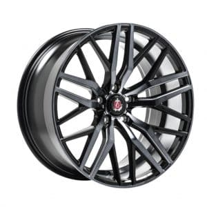Axe EX30 Black Polished and Tinted alloy wheel