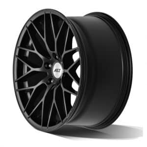 AEZ Antigua Dark Matt Black 1024 angle 2 alloy wheel