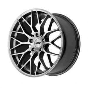 AEZ Antigua Silver High Gloss 1024 angle 1 alloy wheel