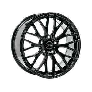 1AV ZX2 Gloss Black 1 alloy wheel