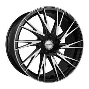 Calibre Storm Black Polished alloy wheel