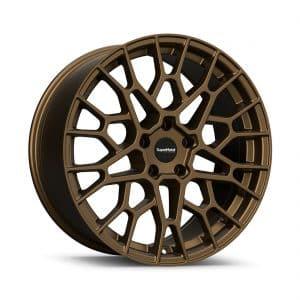 Supermetal Cell Ultra Matt Bronze angle 1 alloy wheel