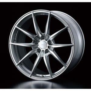 Weds Sport FT-117 Diamond Silver 800 alloy wheel