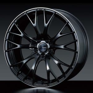 Weds Sport SA20R Metal Black Face R 1000 alloy wheel