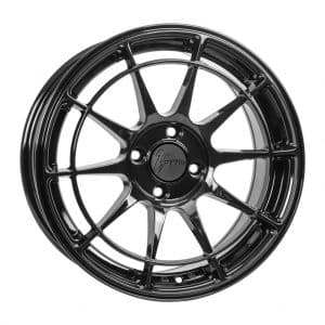 1Form Edition.10 EDT.10 Gloss Black alloy wheel