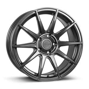 1Form Edition.3 Gloss Graphite and Black Cap Edition 3 EDT.3 alloy wheel