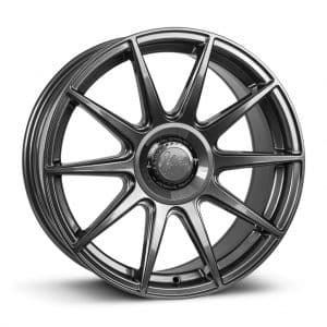 1Form Edition.3+ Gloss Graphite and Black Centre Band Edition 3+ EDT.3+ alloy wheel