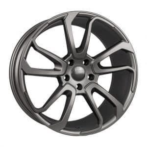 1Form Edition.5 EDT.5 Matt Graphite alloy wheel