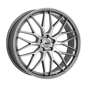 AEZ Crest Silver High Gloss 1024 angle 1 alloy wheel