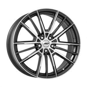 AEZ Kaiman dark Gunmetal Polished 1024 1 alloy wheel
