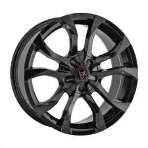 Wolfrace Assassin Gloss Black alloy wheel