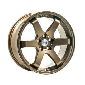 1AV ZX6 Satin Bronze alloy wheel