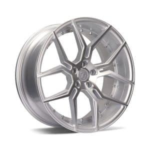 Seventy9 SV-D Silver Polished Face alloy wheel