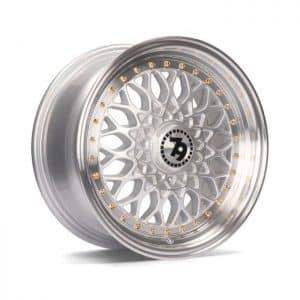 Seventy9 SV-E Silver Polish Lip alloy wheel