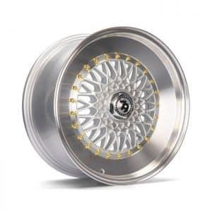 Seventy9 SV-F Silver Polished Lip alloy wheel