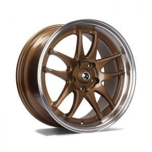 Seventy9 SV-I Bronze Polished Lip alloy wheel