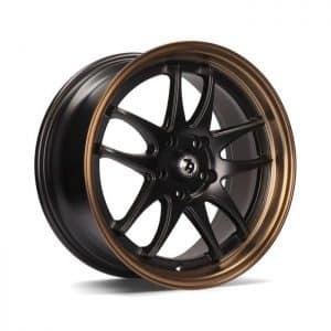 Seventy9 SV-I Matt Black Bronze Lip alloy wheel