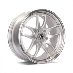 Seventy9 SV-I Silver Polished Lip alloy wheel