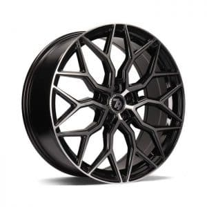 Seventy9 SV-K Black Polished Face alloy wheel