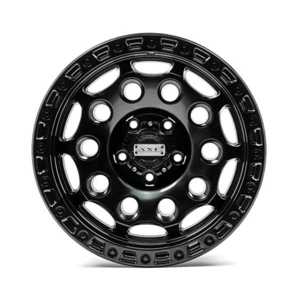 Axe AT4 Satin Black angle 2 alloy wheel