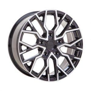 Velare VLR-T Diamond Black Polished Face angle 1 alloy wheel