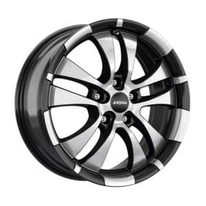 Ronal R59 Black Polished Face 10 spoke angle 1024 alloy wheel