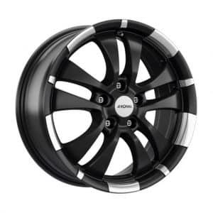 Ronal R59 Black Polished Rim 10 spoke angle 1024 alloy wheel