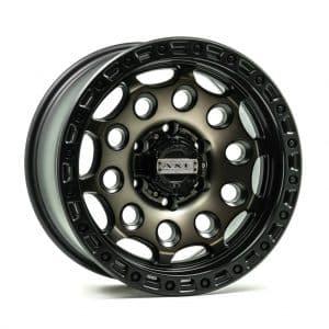 Axe AT4 Satin Black Bronze Centre angle 1 alloy wheel