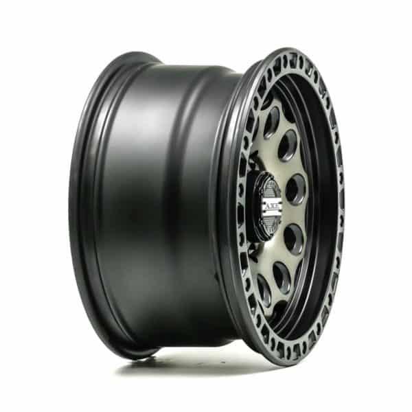 Axe AT4 Satin Black Bronze Centre angle 2 alloy wheel