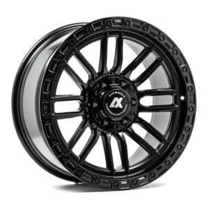 Axe AT5 Satin Black angle 1 alloy wheel