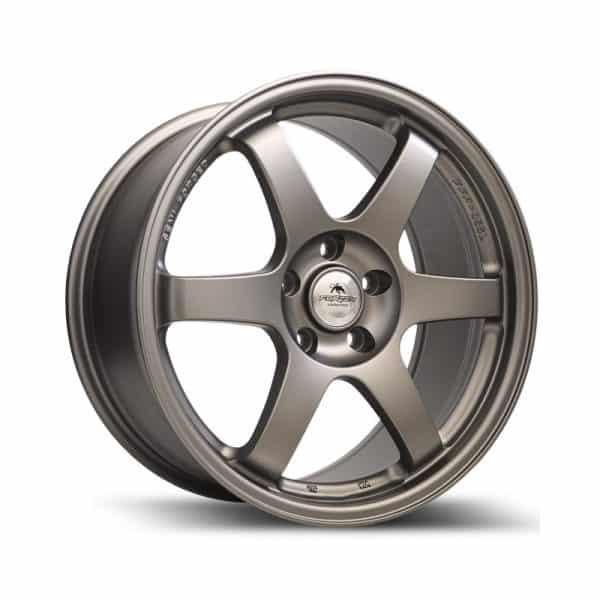 Forzza Kyoto Satin Gunmetal 800 alloy wheel