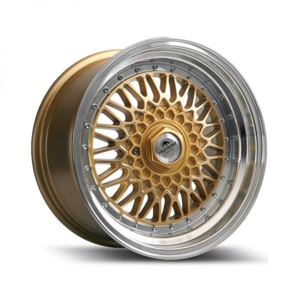 Forzza Malm Gold Machined 800 alloy wheel