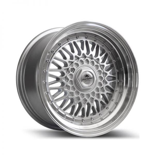 Forzza Malm Silver Machined 800 alloy wheel