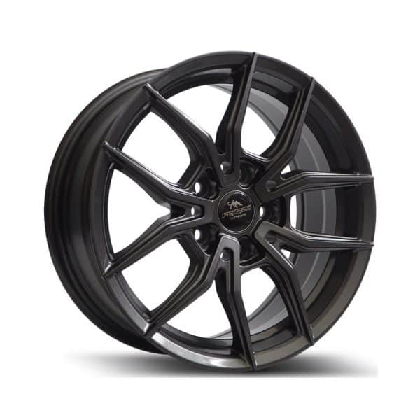 Forzza Orbit Gunmetal 800 alloy wheel
