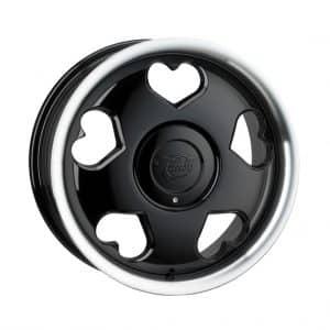 Tansy Love Black Polish 1024 alloy wheel