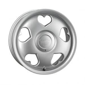 Tansy Love Silver 1024 alloy wheel