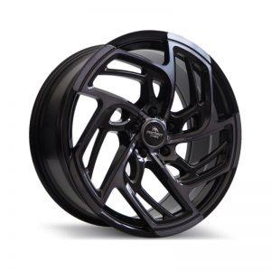 Forzza Turbo Black Magic Machined 800 alloy wheel