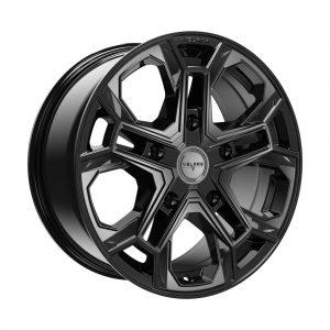 Velare VLR-ST Diamond Black angle 1 alloy wheel