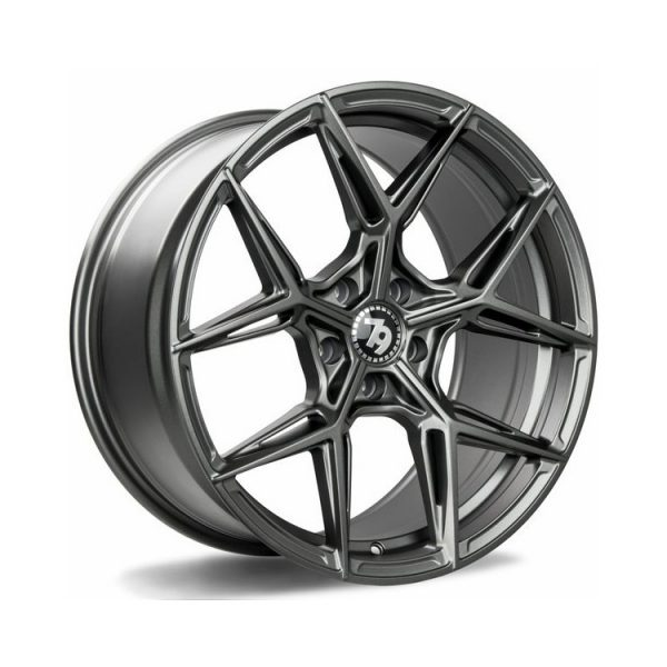 Seventy9 SCF-B Satin Graphite alloy wheel