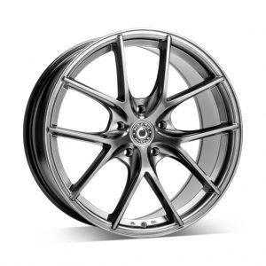 Wrath WF11 Hyper Black 1 alloy wheel