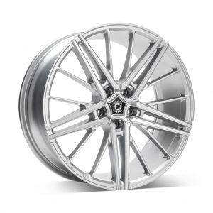 Wrath WF5 Bright Silver 1 alloy wheel