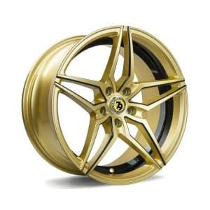Seventy9 SV-A Gloss Gold Black Mill alloy wheel