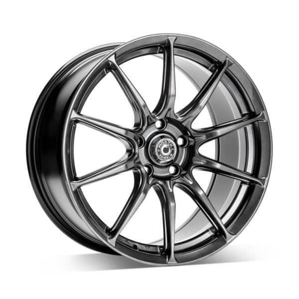 Wrath WF12 Hyper Black 1 alloy wheel
