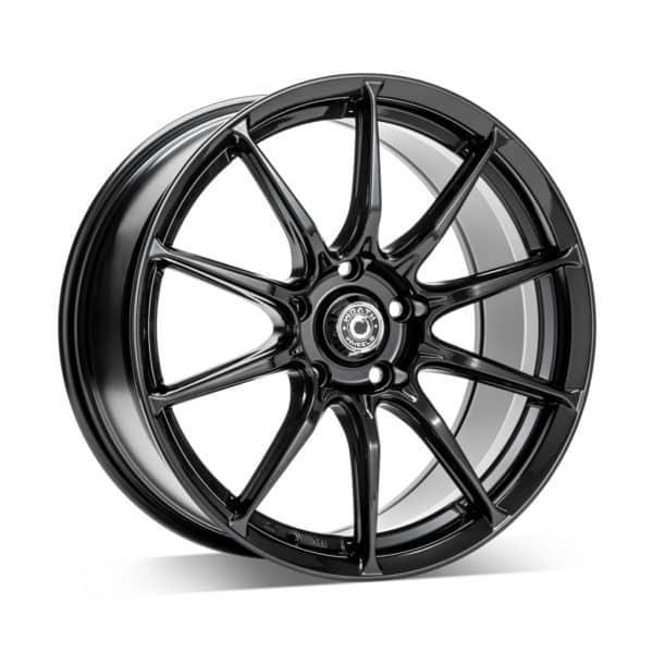 Wrath WF12 Sparkle Black 1 alloy wheel